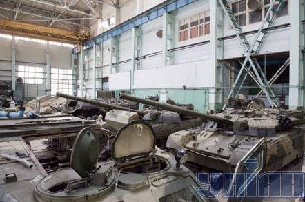Танки «Оплот» на ДП «Завод ім. Малишева», у Харкові