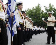 Генеральная репетиция празднования дня ВМС в Севастополе. 30 июня