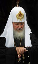 Глава РПЦ Патриарх Кирилл