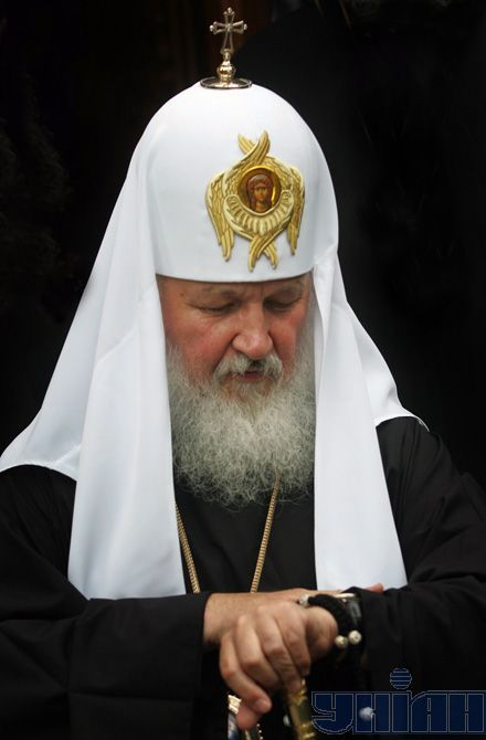 Глава РПЦ Патріарх Кирил