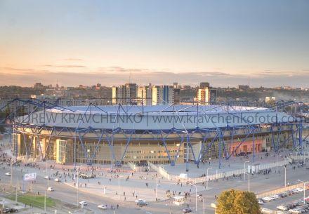 стадіон «Металіст», реконструйований до Євро-2012