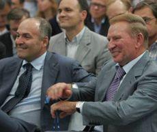Виктор Пинчук и Леонид Кучма во время 6-го саммита Ялтинской европейской стратегии (YES). 25 сентября