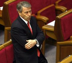 Ivan Kyrylenko during the session of the Verkhovna Rada of Ukraine. Kyiv, April 1