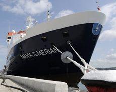 """Німецьке науково-досліднецьке судно """"Maria S. Merian"""" в Севастополі"""