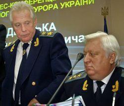 Олександр МЕДВЕДЬКО і Віктор ПШОНКА