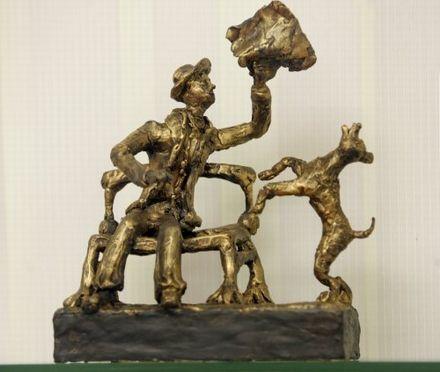 Скульптура дочки порошенка 10-річної
