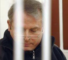 Віктор Лозінський під час судового засідання у Дніпровському районному суді Києва. 23 грудня