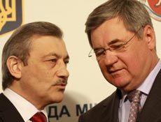 Крымский премьер Василий Джарты и новый представитель президента Украины в Крыму Владимир Яцуба