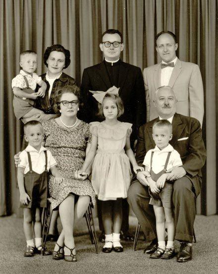 Ієрей Любомир з родиною, Нью-Йорк, США (1960 р.)