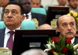 Хосни Мубарак, Омар Сулейман