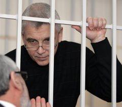 Валерий Иващенко в зале заседаний Печерского районного суда Киева. 2 марта