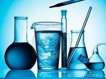 химия колбы пробирки хімія