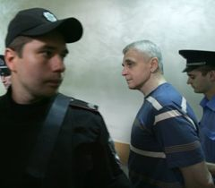 Valeriy Ivashchenko before the court hearing in Pechersk District Court. Kyiv, July 13