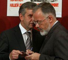 """Сьогодні Табачник і Зурабов разом мали відкривати """"Віртуальну школу"""", однак міністр на урочисту лінійку не прийшов..."""