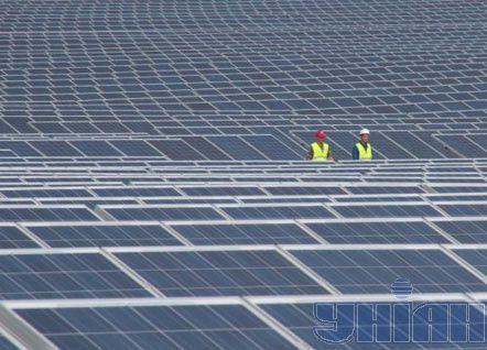 Сонячна електростанція (Сімферопольський р-н, Крим)