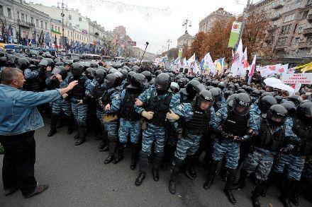Тимошенко вирок 11 жовтня 2011 фот Андрій КРАВЧЕНКО