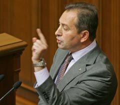 Николай Томенко во время заседания парламента. Киев, 19 октября