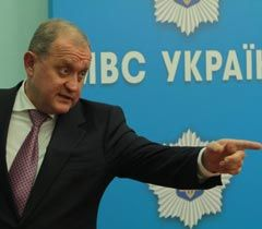 Anatoliy Mogilyov at the news conference in Kyiv, October 25
