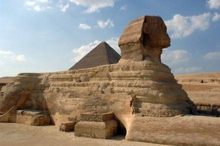 єгипеські піраміди сфінкс
