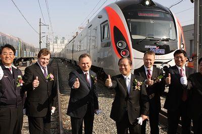 Запуск швидкісних електропоїздів hyundai