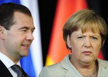 Дмитрий Медведев, Ангела Меркель