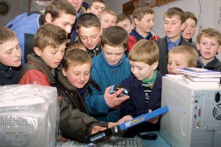 дети діти комп`ютер