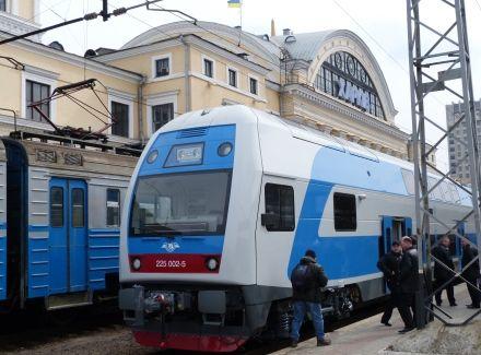 ШКОДА у Харкові 1-й потяг 250312
