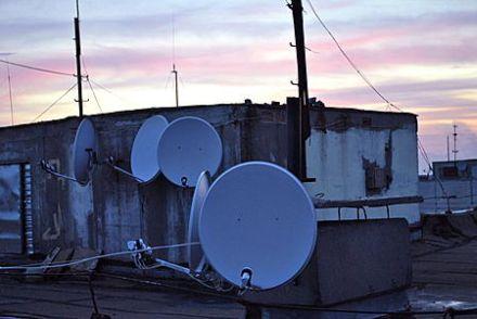 Донецкие коммунальщики объявили войну спутниковым тарелкам, фото dataforum.ks.ua