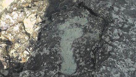 Эти отпечатки могут принадлежать святому апостолу, фото РИА Новости