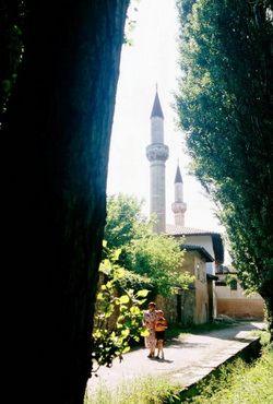 ханський палац дворец бахчисарай