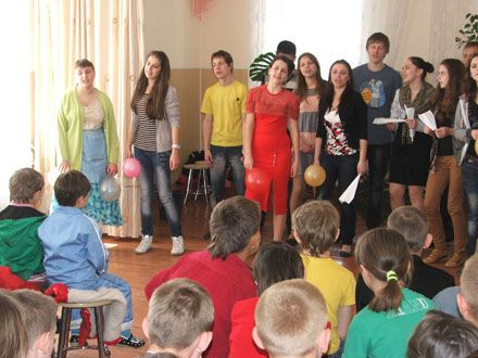 виступ соціального театру Вінницького технічного коледжу