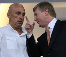 Рінат Ахметов і Олександр Ярославський, травень 2012