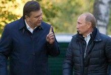 Янукович и Путин будут говорить о газе
