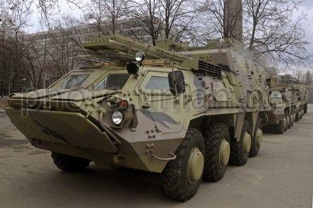 Военные говорят, что с БТР-4 все в порядке