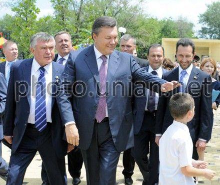 Янукович сегодня будет в Донецке. Фото с архива