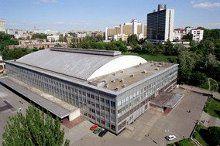 Дворец спорта в Киеве - крупнейшее крытое спортивно-зрелищное сооружение Украины
