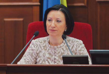Галина Герега закрыла сессию