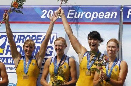 Яна Дементьева, Анастасия Коженкова, Наталья Довгодько и Екатерина Тарасенко - олимпийские чемпионки