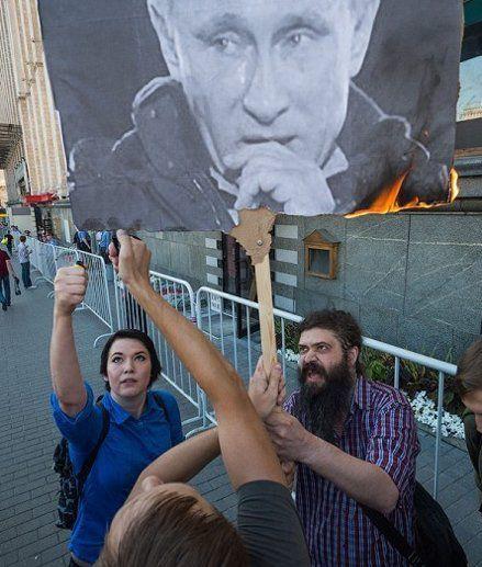 Официально оппозиционеры осуждены по статье о сопротивлении полиции, фото с сайта Другая Россия