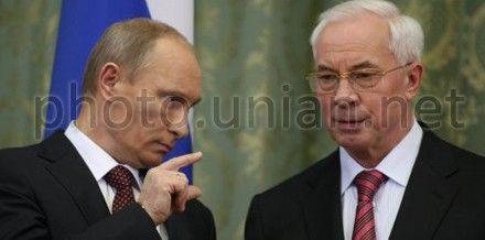 Путин отметил большой вклад Азарова