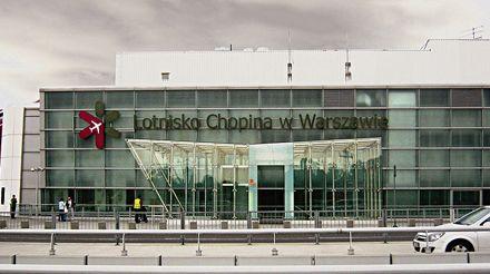 Аэропорт имени Фредерика Шопена в Варшаве. Фото Vampir2011 из Википедии