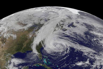 По силе новый шторм не сравнится с «Сэнди». НАСА