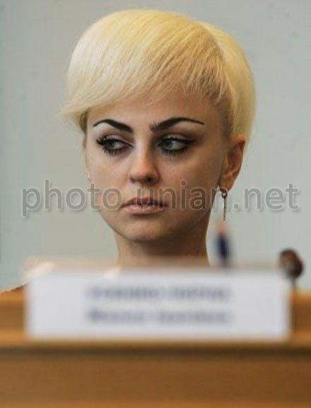 Усенко-Черная просит Шаповала приобщить ее мнение к протоколам