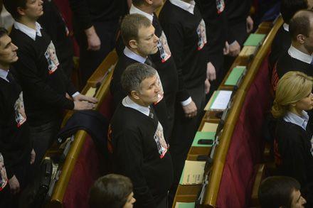 Верховна рада України VІІ скликання. Складання присяги 12 грудня 2012 р. Фото Андрія КРАВЧЕНКА