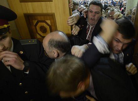 Верховна рада України 7-го скликання. Початок роботи.12.12.2012. Фото Андрія КРАВЧЕНКА