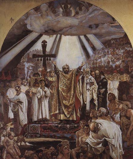 Крещение Руси. В.Васнецов