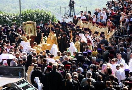 Торжество почтил своим присутствием Патриарх Московский Алексий ІІ