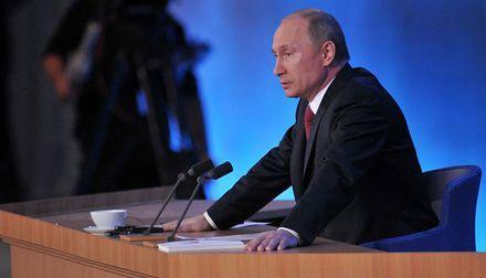 Путин подчеркнул, что на переговорах с Януковичем нет закрытых тем / Фото: Пресс-служба Кремля