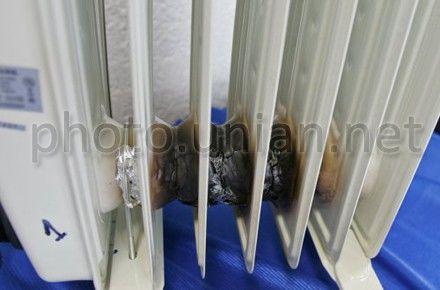 Расплавленный масляный радиатор