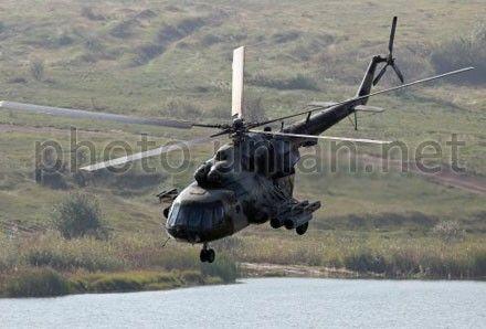 Ми-8 после набора высоты начал внезапно снижаться